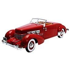 Amm1014 Cord 812 Convertible 1937 Red 1:18 Modellino