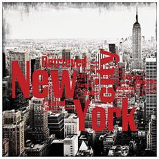 Tela con New York City 45 x 45 x 1,2 cm