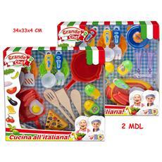 Giocattoli- Set Cucina In Allegria, Multicolore, 3. te65162