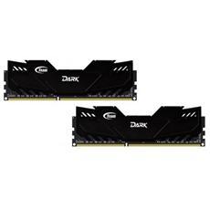 Memoria Dimm Dark Series 16 GB (2 x 8GB) DDR3 1600 MHz CL9 Dissipatore nERO