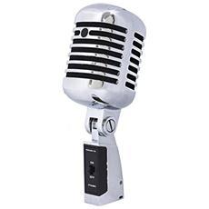 Dm55V2 Microfono Dinamico Vintage Style a Diaframma Polare Cardioide