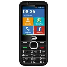 Telefono Cellulare 3g Facile Con Tasti Grandi E Touchscreen Trevi Relax 90, Android Senior Phone Con Whatsapp, Facebook, Bluetooth