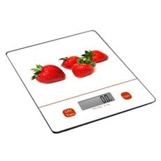 Bilancia da Cucina Elettronica Fragole Portata 5 Kg