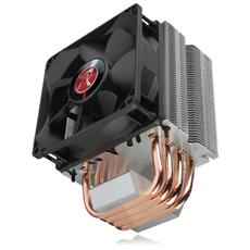 Dissipatore AIDOS BLACK Per CPU Intel Socket 775 / 1366 / 1156 / 1155 / 1150 / 2011 e AMD Socket AM2 / AM2+ / AM3 / AM3+ / FM1 / FM2 / FM2+ Ventola PWM