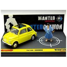 Bml03 Fiat 500f Lupin Iii Wanted Goemon 1:43 Modellino