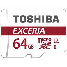 MicroSDHC Class 10 da 64GB Exceria M302 UHS-I + adattatore