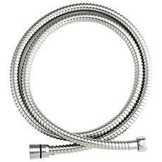 Tubo Flessibile Per Doccia Di Lusso In Acciaio Inox, 1/2pollici X 2m, 1pezzo, Hochglanzverchromt, 150012478