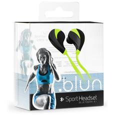 Auricolari Sportivi Bluetooth Universali - Rq5 Verdi