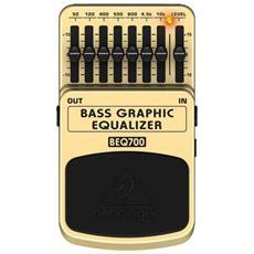 Pedale Bass Graphic Eq - Equalizzatore Per Basso Beq700