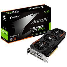 GIGABYTE - GeForce GTX 1070 Ti 8 GB GDDR5 Pci-E 1 x DVI-D / 3...