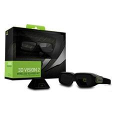 Occhiali Tridimensionali NVIDIA GeForce 3D Vision 2 (Kit con Emettitore IR)