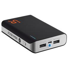 Powerbank Caricabatterie portatile 8800 mAh con 2 porte USB - Nero