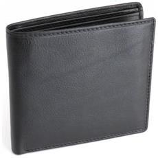 Portafoglio Elegance In Pelle Nero