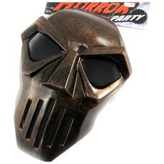 maschera disguise 'masque de fer' marrone - [ l7794]