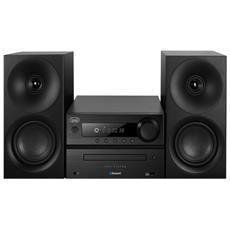 Sistema Mini Hi-Fi HCX 1080 BT Lettore CD Supporto MP3 Potenza Totale 40Watt Bluetooth / NFC USB colore Nero RICONDIZIONATO