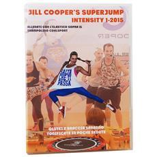 Dvd Jill Cooper Superjump Intensity + Elastic Band