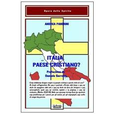 Italia paese cristiano?