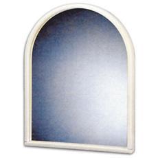 Specchio per Bagno in Durolite Bianco 52X40 Cm
