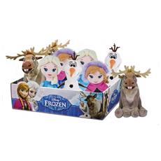 Frozen - Peluche 20 Cm (Assortimento Anna / Elsa / Olaf / Sven Seduto)