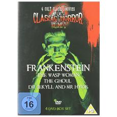 Classic Horror Volume 2 (Frankenstein, The Wasp Women, The Ghoul, Dr Jekyll And Mr Hyde) [ Edizione: Regno Unito]