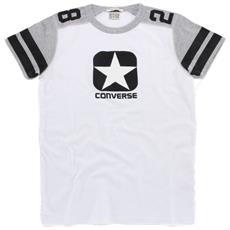 T-shirt Uomo Logo Man Insert Xl Bianco Grigio