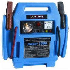 Avviatore Batterie Energy 1500 V. 12