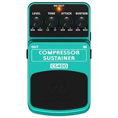 Pedale Comp / sustainer - Effetto Compressore Sustainer Cs400