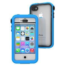Cover Waterproof Impermeabile Antiurto per iPhone 4 / 4S - Blu