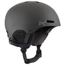 Casco Uomo Da Snowboard Raider Ski Helmet S Nero