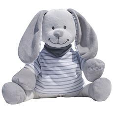 Doodoo Rabbit Coniglio Grey Stripes Righine 122