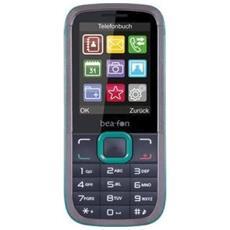 """C140 Nero / Turchese Dual Sim Display 2.4"""" Bluetooth Fotocamera e RadioFM - Europa RICONDIZIONATO"""