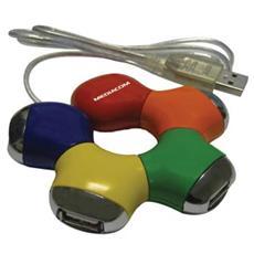 Snake Hub USB 2.0 – 4 Porte