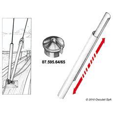Profilo coprisartie mm 60x2m - Cappuccio escluso
