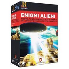 DVD ENIGMI - ALIENI (4 DVD) (es. IVA)