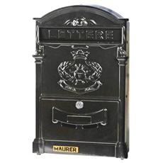 Cassetta per lettere Royal in alluminio verniciato