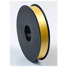 Nastro Rocchetto Lucido Metallizzato Oro 19mm x 100m