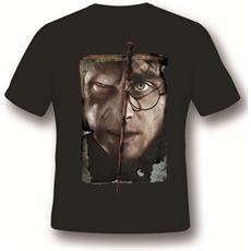 T-Shirt Harry vs Voldemort Black L