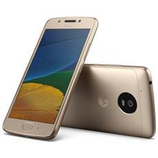"Moto G5 Oro 16 GB 4G/LTE Display 5"" Full HD Slot Micro SD Fotocamera 13 Mpx Android Tim Italia"