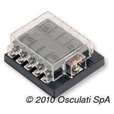 Box per 10 fusibili lamellari