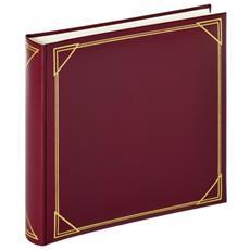 Standard rosso 30x30 100 pagine bian. Fotoalbum MX200R