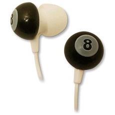Auricolari Stereo In-ear Con Jack Da 3,5 Mm Fantasia Palla Biliardo