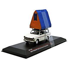 Ist193 Trabant 601s Limousine (camping) 1980 Cream 1:43 Modellino