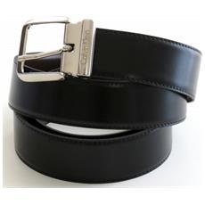 Cintura In Pelle Prestige Di Color Nero