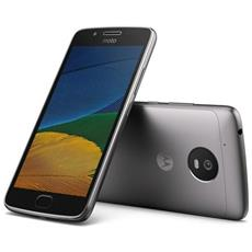 "Moto G5 Grigio 16 GB 4G / LTE Display 5"" Full HD Slot Micro SD Fotocamera 13 Mpx Android Tim Italia"