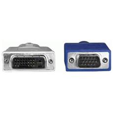 Adapter Cable, 1.8m 1.8m VGA (D-Sub) Grigio