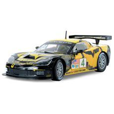 Auto per Corse Corvette C6R Nero e Giallo 1:24 18-28003