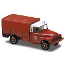 2192 Acmat 4x4 Telonato Pompieri 1/50 Modellino