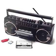 Maxi Radioregistratore Portatile Ghettoblaster