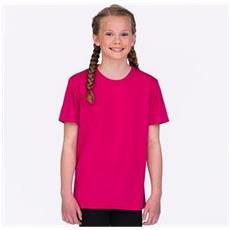 Maglietta A Maniche Corte Cool Smooth Bambini / e (9/11 Anni) (blu Reale)