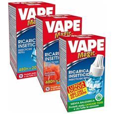 Ricarica Liquida Inodore per Insetticida Antizanzare Vape 480 Ore